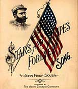 Photo poster of the song Stars and Stripes  Forever
