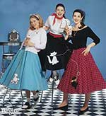 The 1950s Poodle Skirts