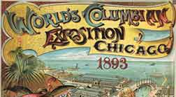 World's Columbian Exposition Chicago 1893 Ad