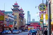 Chinatown in Chicago