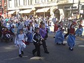 Greek Parade in Chicago