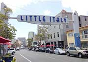 Little Italy area in Chicago