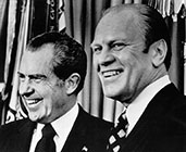 Gerald Ford with Richard Nixon
