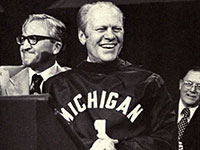 Gerald Ford at Univ of Michigan