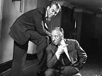 Hitchcock and Cary Grant