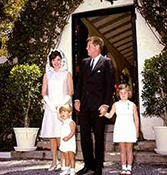 John F. Kennedy and his Family Photo