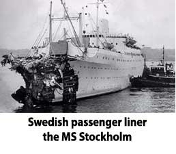 The MS Stockholm