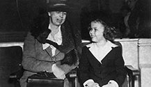 Shirley Temple with Eleanor Roosevelt